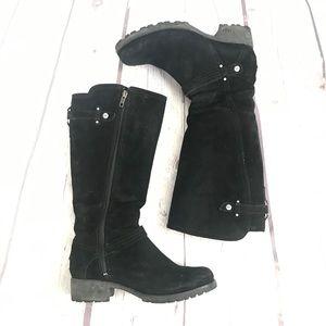 Ugg Jillian Sherpa Lined Calf Suede Boots Sz 7